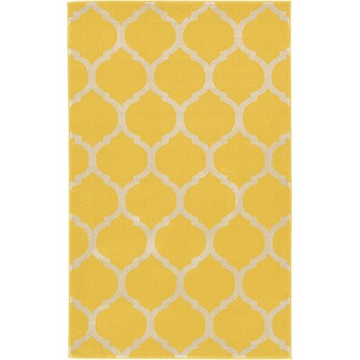 Moore Yellow Area Rug