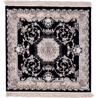 Layton Black Area Rug