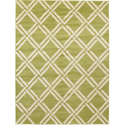 Moore Green Area Rug Rug Size: 9 x 12