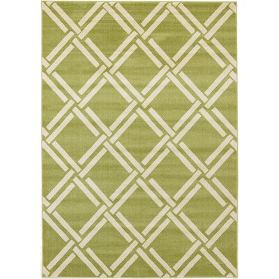 Moore Green Area Rug Rug Size: 7 x 10