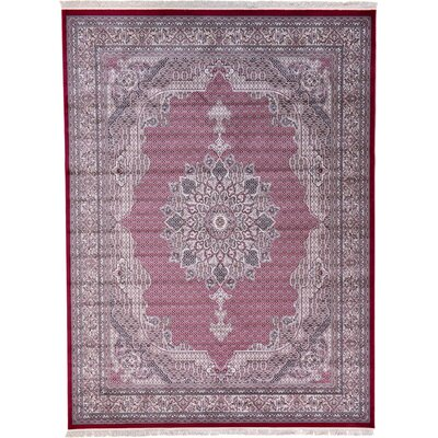 Layton Red Area Rug Rug Size: 910 x 13