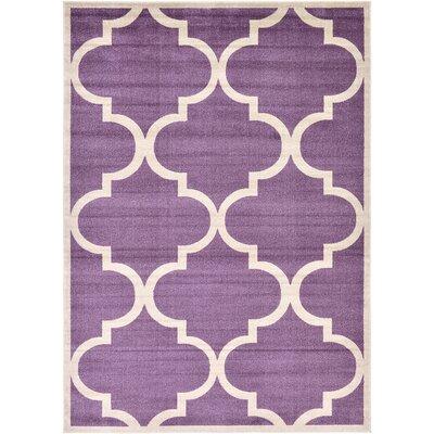 Moore Purple Area Rug Rug Size: 7 x 10