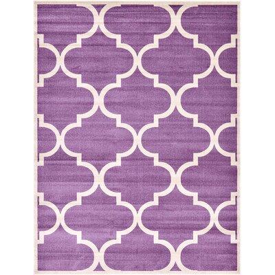 Moore Purple Area Rug Rug Size: 33 x 53