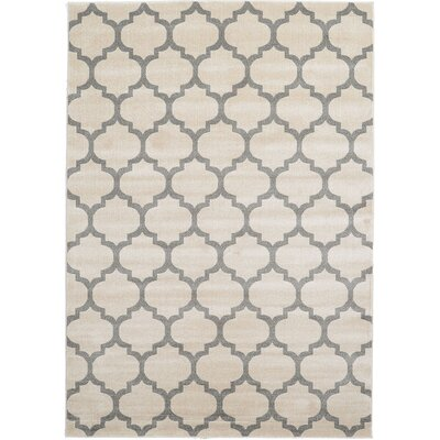 Moore Beige Area Rug Rug Size: Square 6
