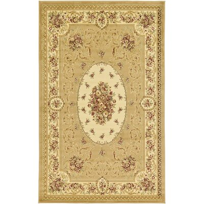 Oskar Tan Area Rug Rug Size: Rectangle 5' x 8'