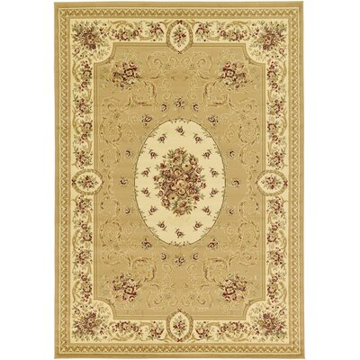 Oskar Tan Area Rug Rug Size: Rectangle 7' x 10'