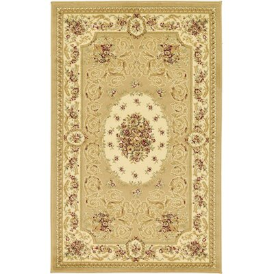Oskar Tan Area Rug Rug Size: Rectangle 33 x 53