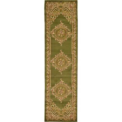 Oskar Green Area Rug