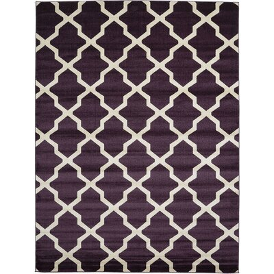 Moore Purple Area Rug Rug Size: 9 x 12