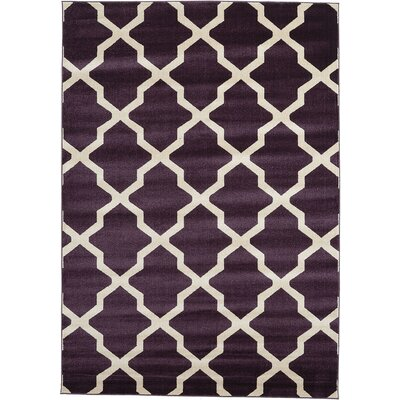 Moore Purple Area Rug Rug Size: 7 x 10