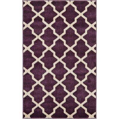 Moore Purple Area Rug