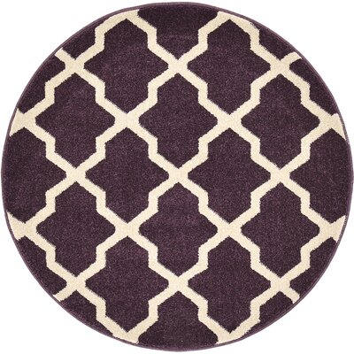 Moore Purple Area Rug Rug Size: Rectangle 33 x 53