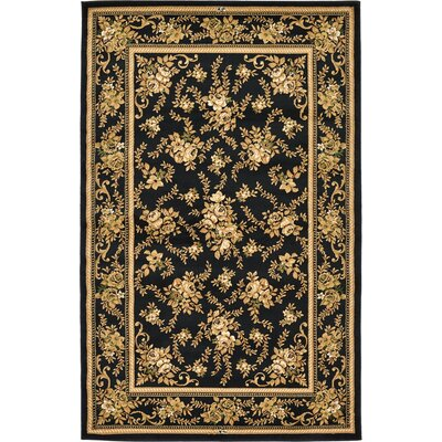 Oskar Black Area Rug