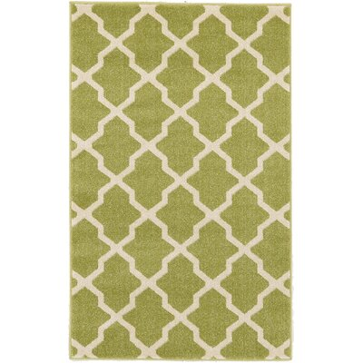 Moore Green Area Rug