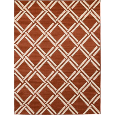 Moore Rust Red Area Rug