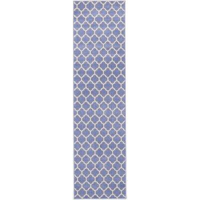Moore Light Blue Area Rug Rug Size: Runner 27 x 10