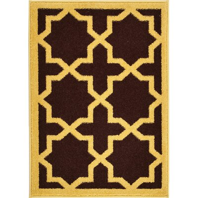 Moore Brown Area Rug Rug Size: 5' x 8'