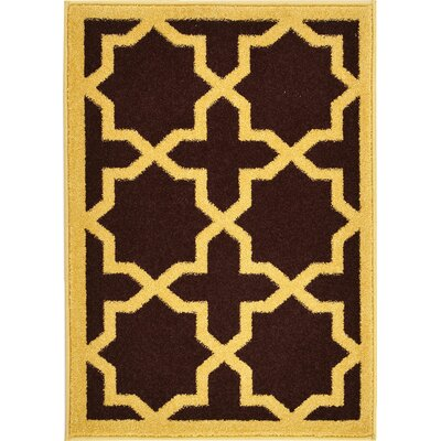 Moore Brown Area Rug Rug Size: 7' x 10'