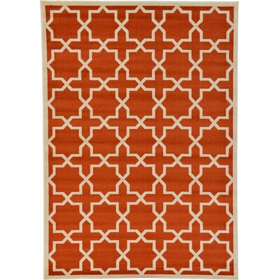 Moore Terracotta Area Rug Rug Size 2 2 x 3