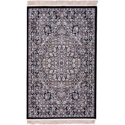 Layton Black Area Rug Rug Size: 7 x 10