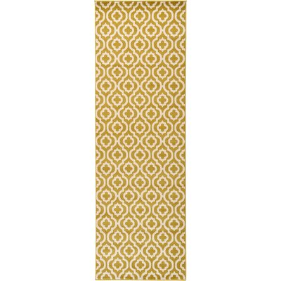Charlton Home Moore Gold Area Rug