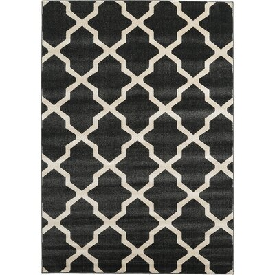 Moore Black Area Rug Rug Size: Rectangle 7 x 10