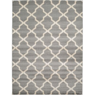 Moore Gray Area Rug Rug Size: 9 x 12