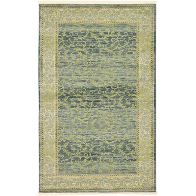 Oskar Blue Area Rug