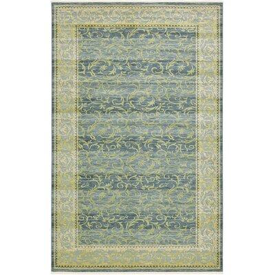 Oskar Blue Area Rug Rug Size: 106 x 165