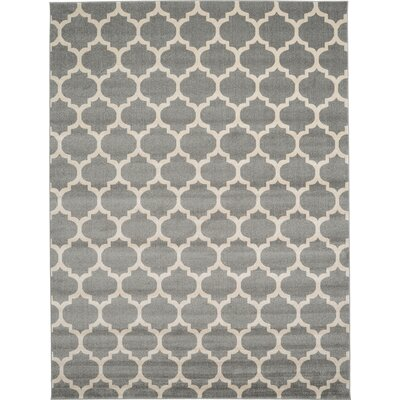 Moore Gray Area Rug Rug Size: 13 x 18