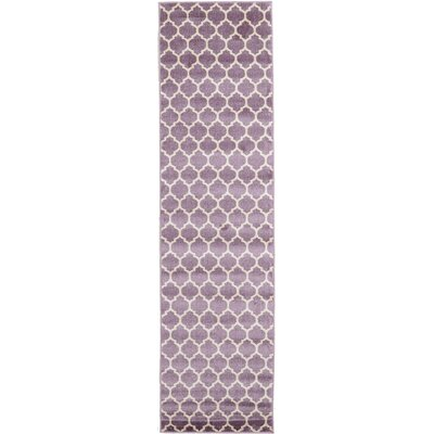 Moore Purple Area Rug Rug Size: Runner 2'7 x 10'