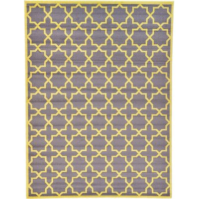 Moore Gray Area Rug Rug Size: 9' x 12'