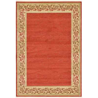 Boulder Creek Rust Red Area Rug Rug Size: 5' x 8'
