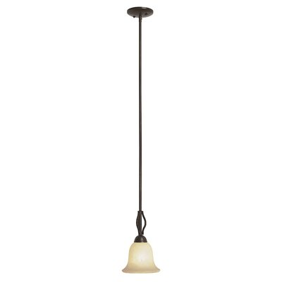 Lymon 1-Light Mini Pendant Finish: Bronze