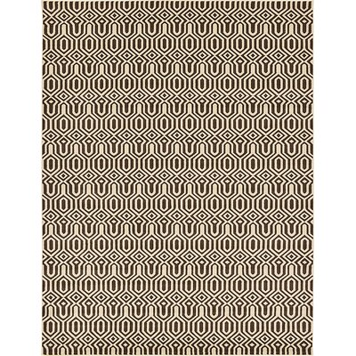 Millvale Brown Area Rug Rug Size: 9 x 12