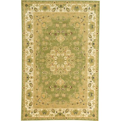 Malone Green Area Rug