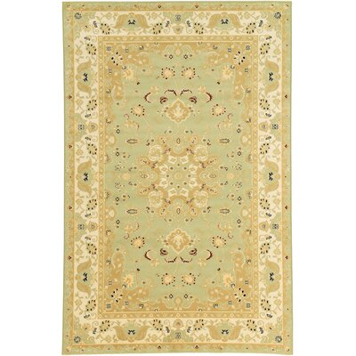 Malone Light Green Area Rug