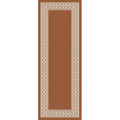 Osage Rust Indoor/Outdoor Area Rug Rug Size: Rectangle 67 x 96