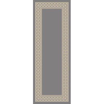 Osage Gray Indoor/Outdoor Area Rug Rug Size: Runner 27 x 73