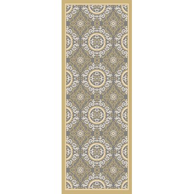 Osage Yellow Indoor/Outdoor Area Rug Rug Size: Runner 27 x 73