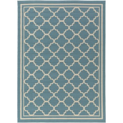 Osage Slate Indoor/Outdoor Area Rug Rug Size: 53 x 73