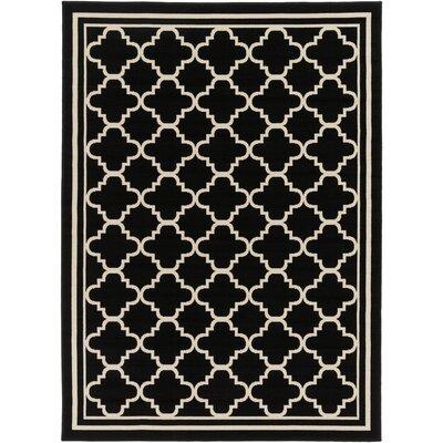 Osage Black Indoor/Outdoor Area Rug Rug Size: 710 x 103