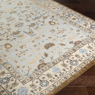 Netta Beige/Brown Area Rug Rug Size: Rectangle 5 x 76