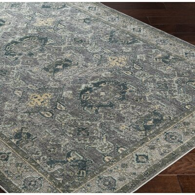 Ellisurg Beige/Charcoal Area Rug Rug Size: Rectangle 710 x 910