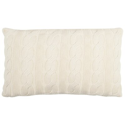 Ramona Sweater Knit Throw Pillow Size: 12 x 20