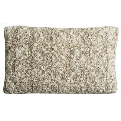 Randolph Chunky Knit Throw Pillow Size: 12 x 20