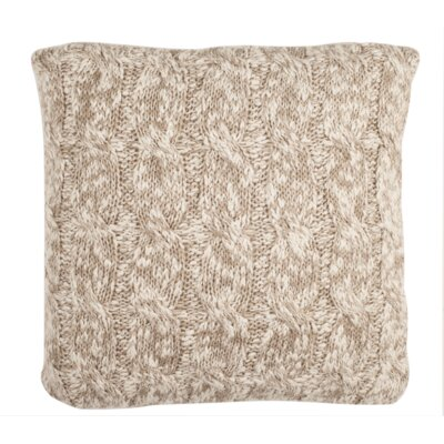 Randolph Chunky Knit Throw Pillow Size: 20 x 20