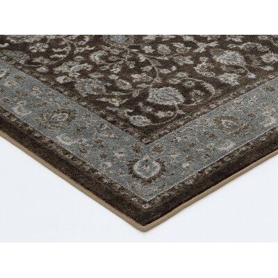 Millstone Brown Area Rug Rug Size: 8 x 10