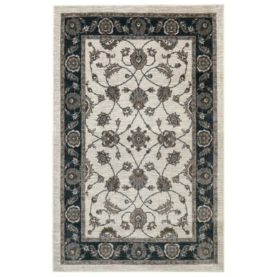 Millstone Traditional Brown Area Rug Rug Size: 5 x 8