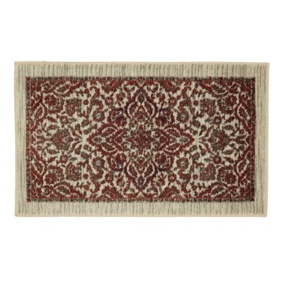 Millstone Burgundy/Cream Area Rug Rug Size: Rectangle 26 x 310